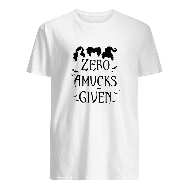 Zero Amucks Given Hocus Tee Shirt Focus Halloween Gift Hoodie