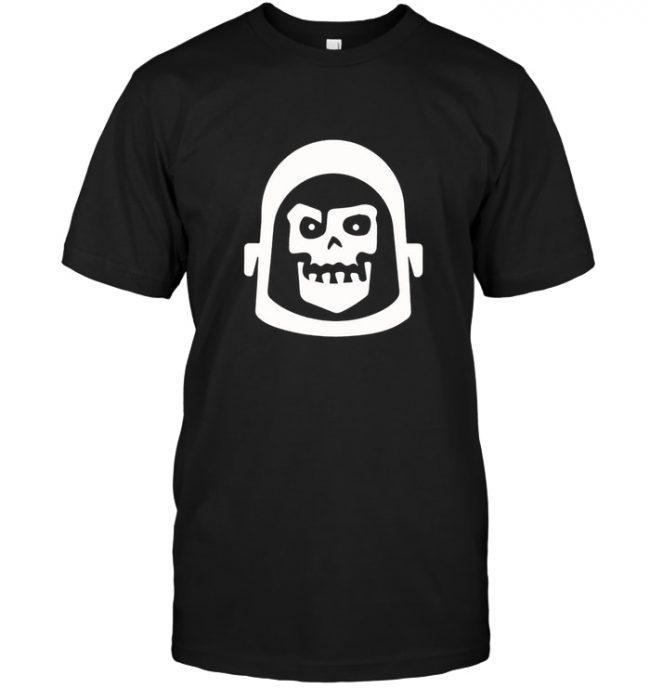 Zombie Astronaut Tee Shirt Hoodie