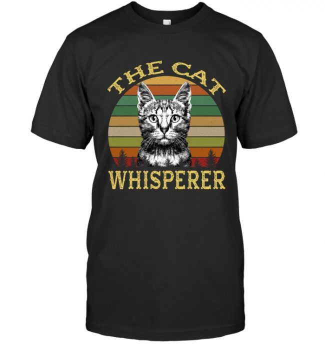Vintage the cat whisperer Tee shirt