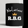 Notorious RBG Ruth Supreme Court Feminist Political Black Coffee Mug
